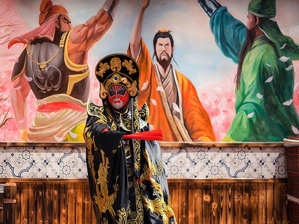 Cambia Faccia nell'Opera di Sichuan