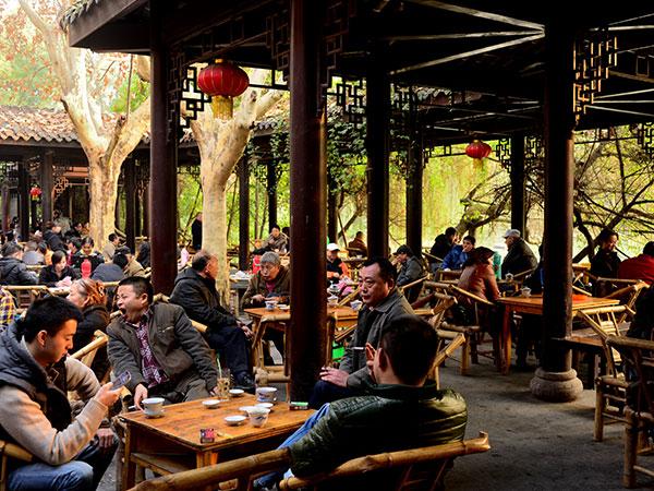 Parco del Popolo di Chengdu