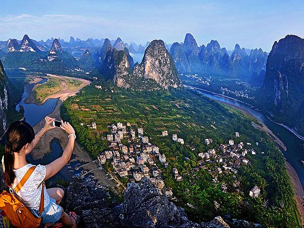 Paesaggio di Guilin