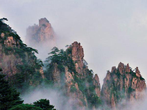 Monte. Huangshan